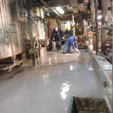 Vloeistofdichte chemisch resistente vloer Altana groep